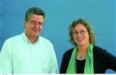 Katja Brandis und Prof. Dr. Hans-Peter Ziemek