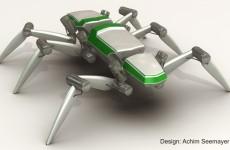 Laufroboter mit elastischen Antrieben