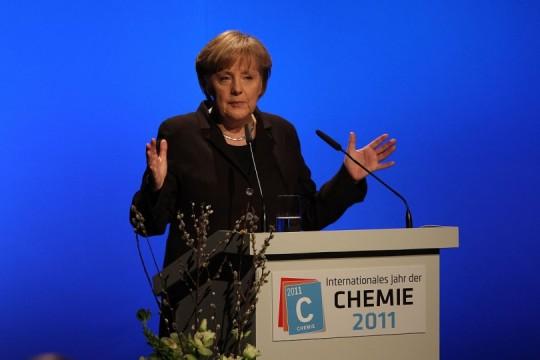 Angela Merkel Eröffnungsrede Chemie 2011