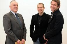 Prof. Dr. Werner Wiater mit Felix Senner und Thomas Sporer