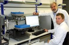 Dr. Hans-Peter Müller und Sven Brandt