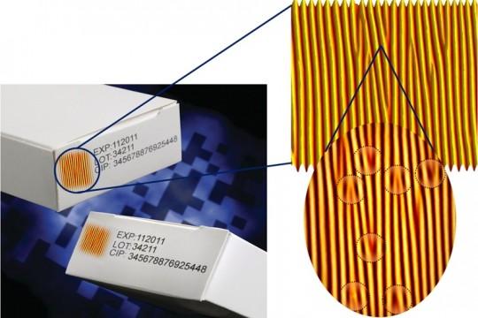 Künstlicher Fingerabdruck schützt vor Produktpiraterie