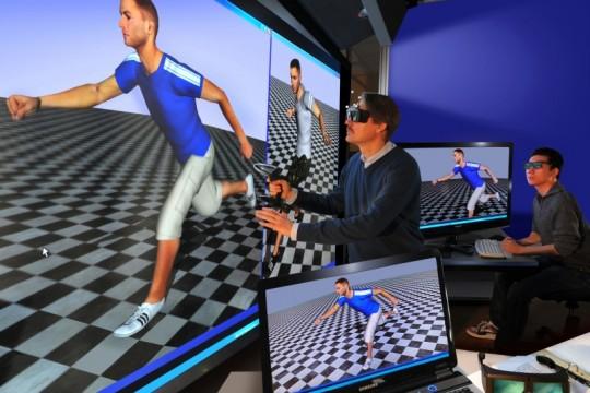Simulation von Szenarien mit digitalen Menschmodellen