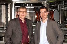 Prof. Schweikhard und Prof. Blaum