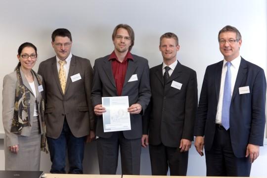 Siemens Promotionsstipendium für Florian Dort