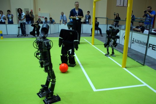 RoboCup 2011 - Fussball Roboter WM in Istanbul